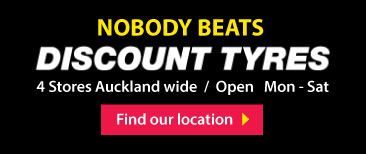 Quality Tyres Auckland | Discount Tyres New Zealand